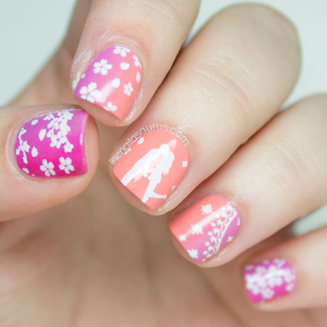 Snippet: K.I.S.S.I.N.G. - The Nailasaurus | UK Nail Art Blog