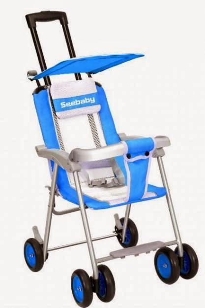 Xe đẩy em bé Seebaby  QQ1 - 1 màu xanh
