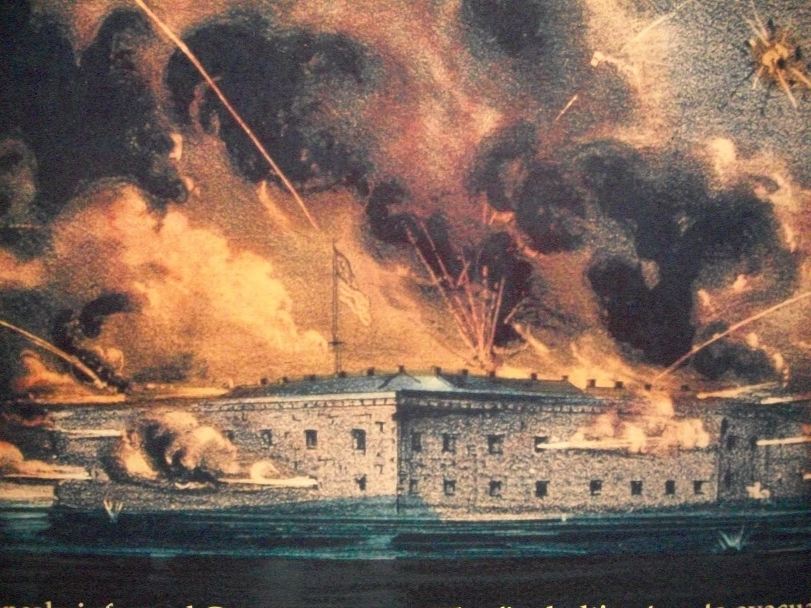 a history of the fort sumter battle during the civil war A special military decoration, known as the gillmore medal, was later issued to all union service members who had performed duty in fort sumter during the opening battle of the american civil war the fort sumter flag became a popular patriotic symbol after maj anderson returned north with it.