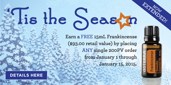 FREE Frankincense Extended Special!