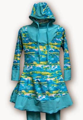 Baju renang muslim anak modis