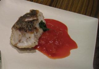 深沢・桜新町のお客様宅に出張:白身魚のソテー
