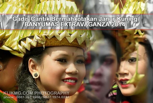 Banyumas Extravaganza 2014 - Gadis Bertopi Janur Kuning