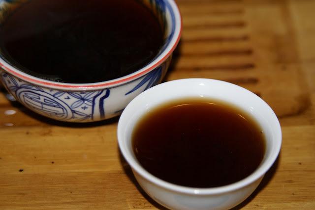 galette de thé