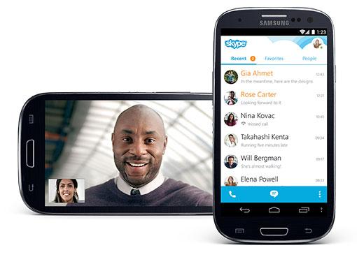 تحميل برنامج سكايب Skype للاندرويد مجانا