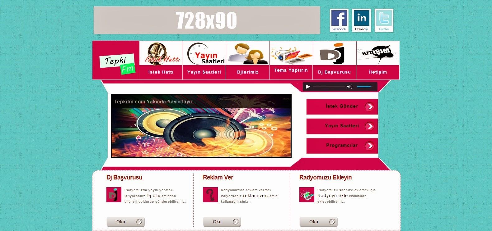 Blogger Radyo teması,blogger temaları,blogger teması,blogger