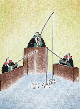 law cartoons by Cem Koc