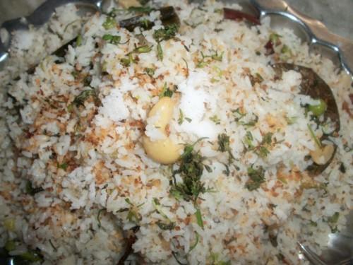 Coconut Milk Rice / Coconut Rice - Keralan Style