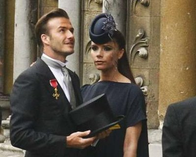 david beckham royal wedding. David amp; Victoria Beckham Royal