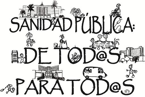 Por la sanidad pública en España