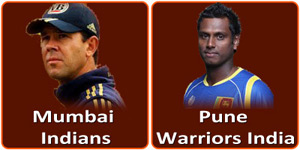 MI Vs PWI IPL match is on 13 April 2013