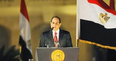 الرئيس عبد الفتاح السيسى يشعد تخريج دفعات جديدة من الكلية البحرية وكلية الدفاع الجوى