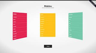 Makisu: CSS 3D