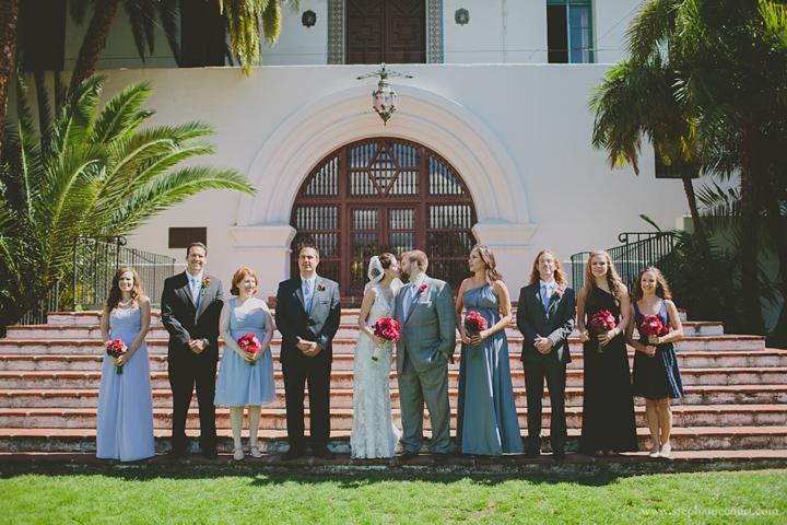 """""""wedding party Santa Barbara courthouse"""""""