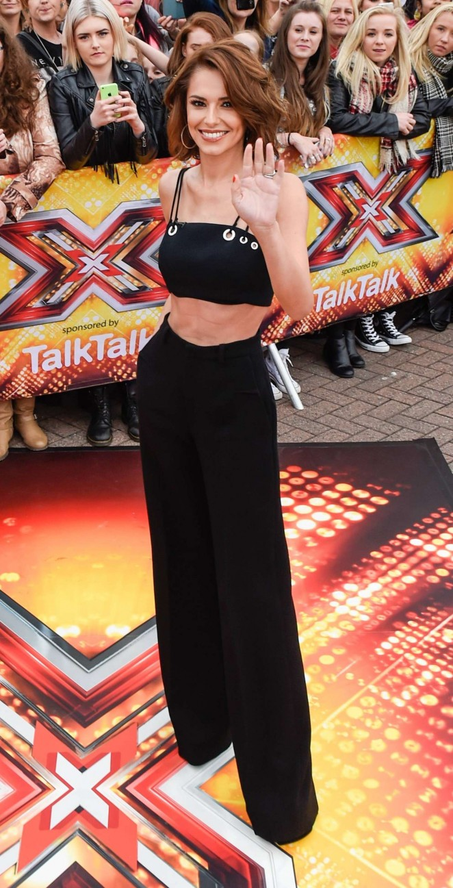 Cheryl Fernandez-Versini – The X Factor Auditions in Manchester
