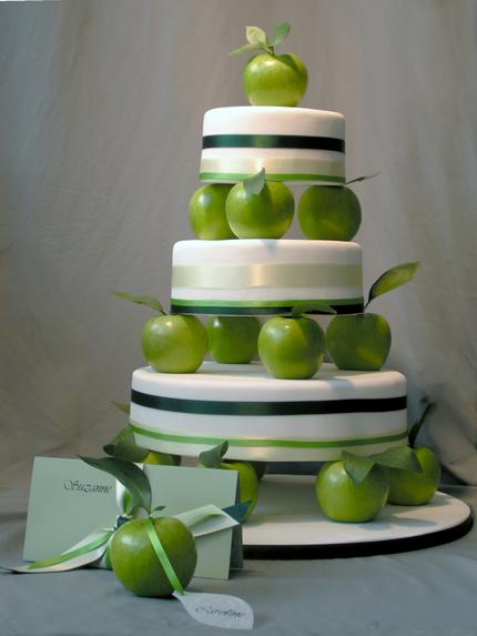 tort weswlny zielone jabłko