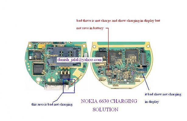 Nokia 6630 not charging solution.NOKIA 6630 not charging tested