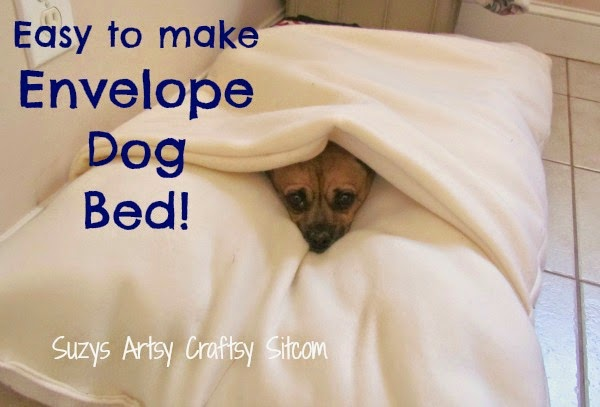 http://suzyssitcom.com/2013/03/make-a-cool-envelope-dog-bed.html