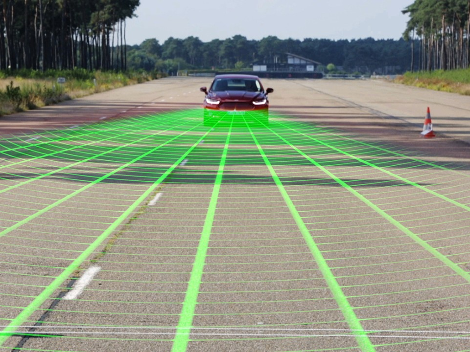 Ford's Pre-Collision Assists in Avoiding Frontal Crashes with Pedestrian Detection System