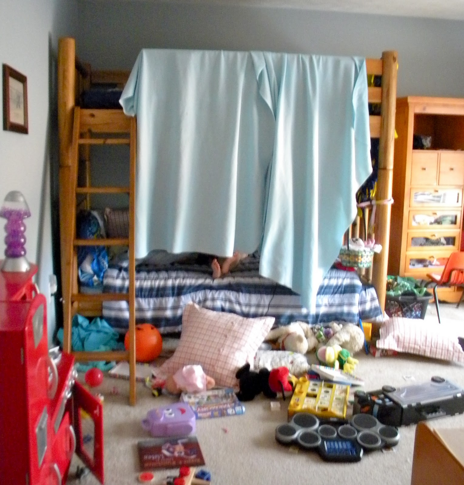 why should children clean their rooms