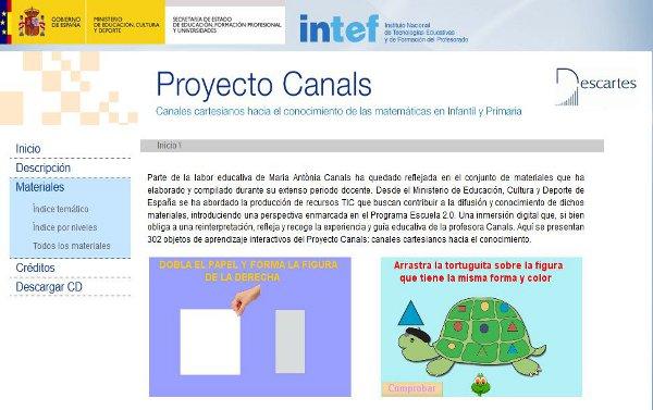 PROYECTO CANALS 3º curso