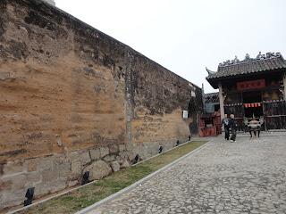 Murallas y templo de Na Tcha en Macao.