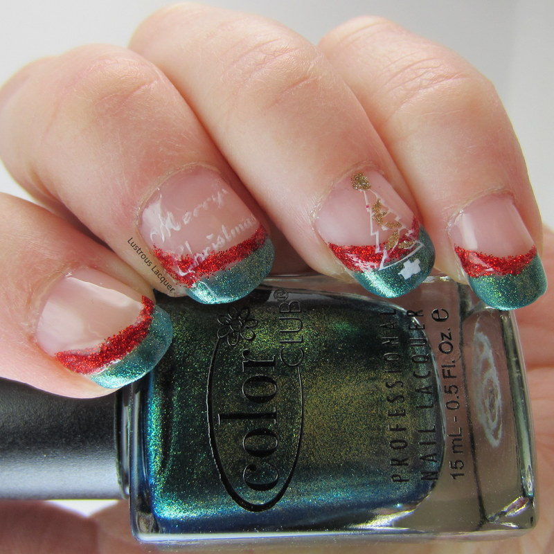 The 12 Days of Christmas Nail Art Challenge Day 2 ...
