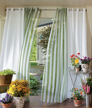 Modern furniture grommet top curtains designs ideas 2012 pictures