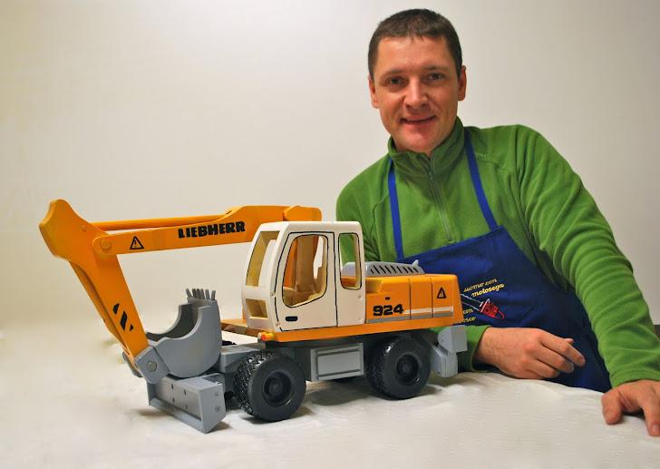 Escavatore Libherr