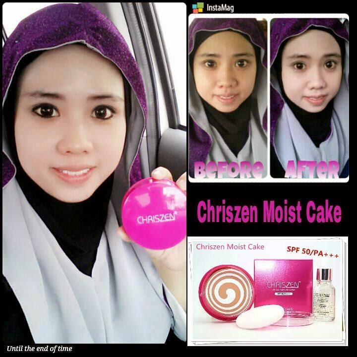 MURAH2 ORIGINAL BEAUTYCARE Chriszen Moist Cake 2 In 1
