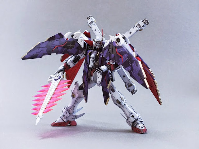 gundam century crossbone bandai model kit