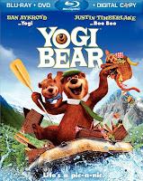 Yogi Bear, movie, DVD, Blu-ray, Release, Details