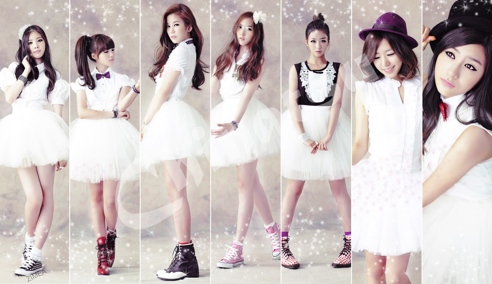 Foto A Pink Girl Band Korea