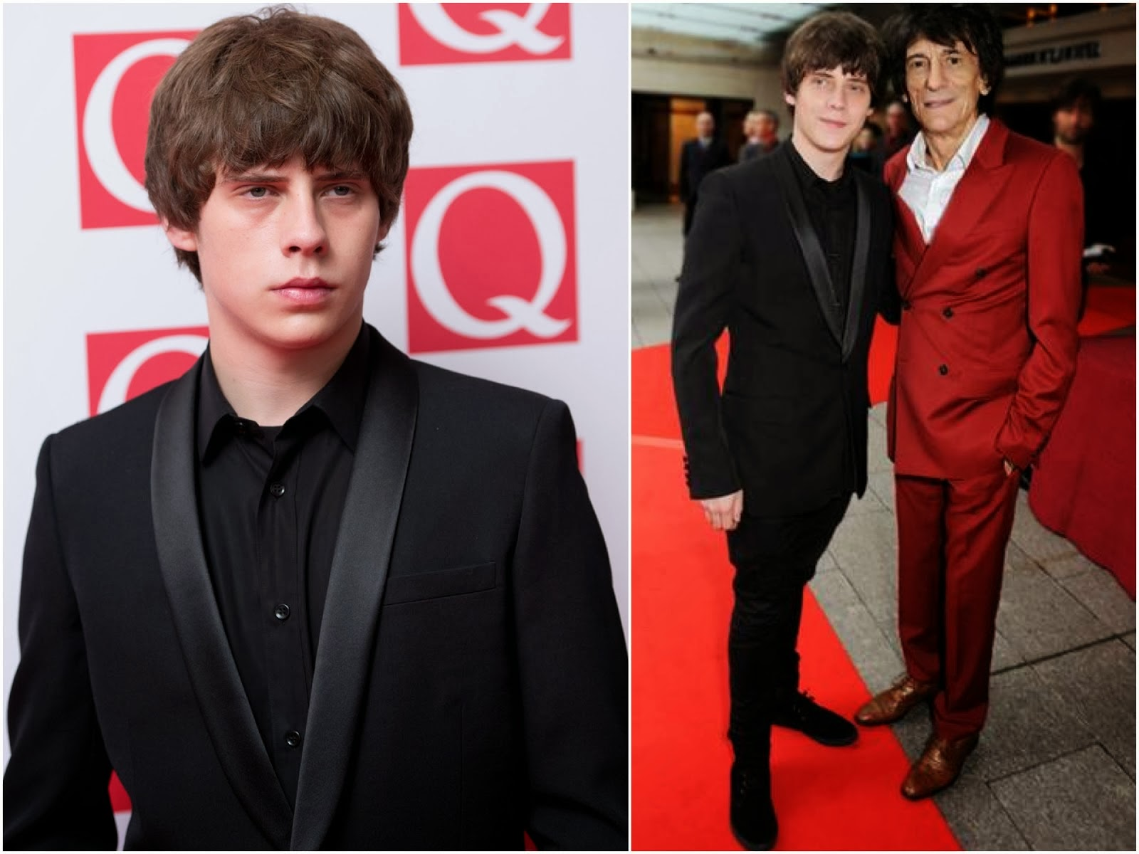 00O00 Menswear Blog: Jake Bugg in Saint Laurent - Q Awards 2013, London