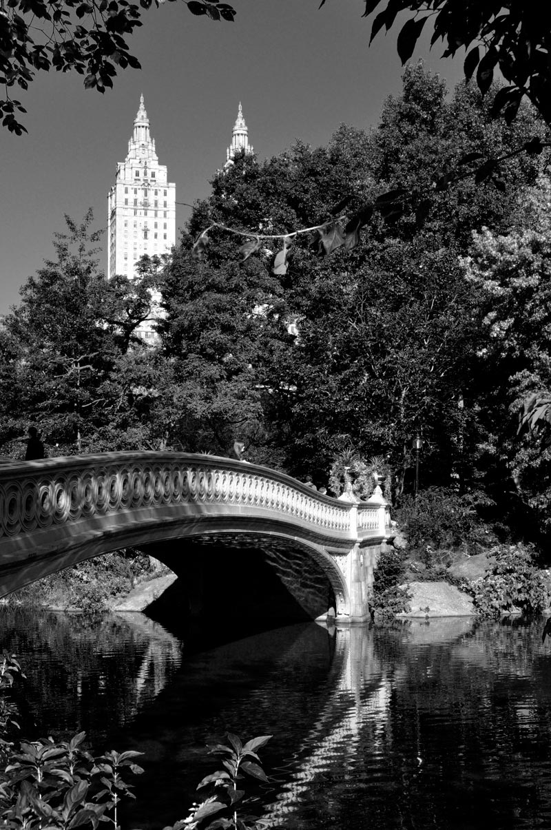 Bow Bridge and San Remo Apartments; click for previous post