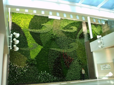 jardines verticales muros verdes greenwalls foto