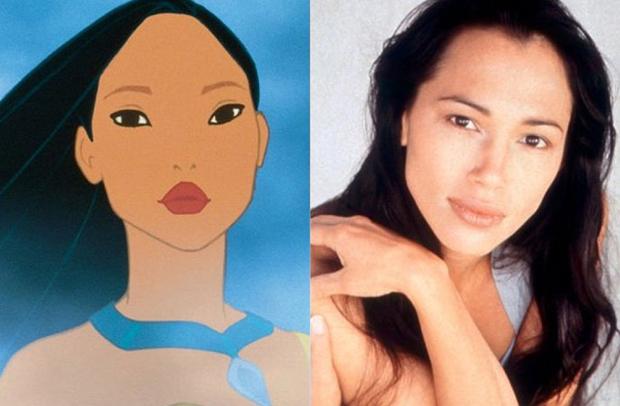 Os personagens da Disney na vida real - Pocahontas – Irene Bedard