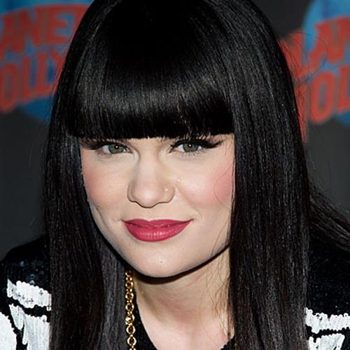 Jessie J fringe hairstyle - Blunt Bangs