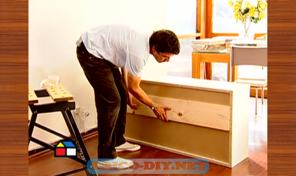 Como fijar muebles de melamina para cocina alacena alta for Planos para muebles de cocina en melamina
