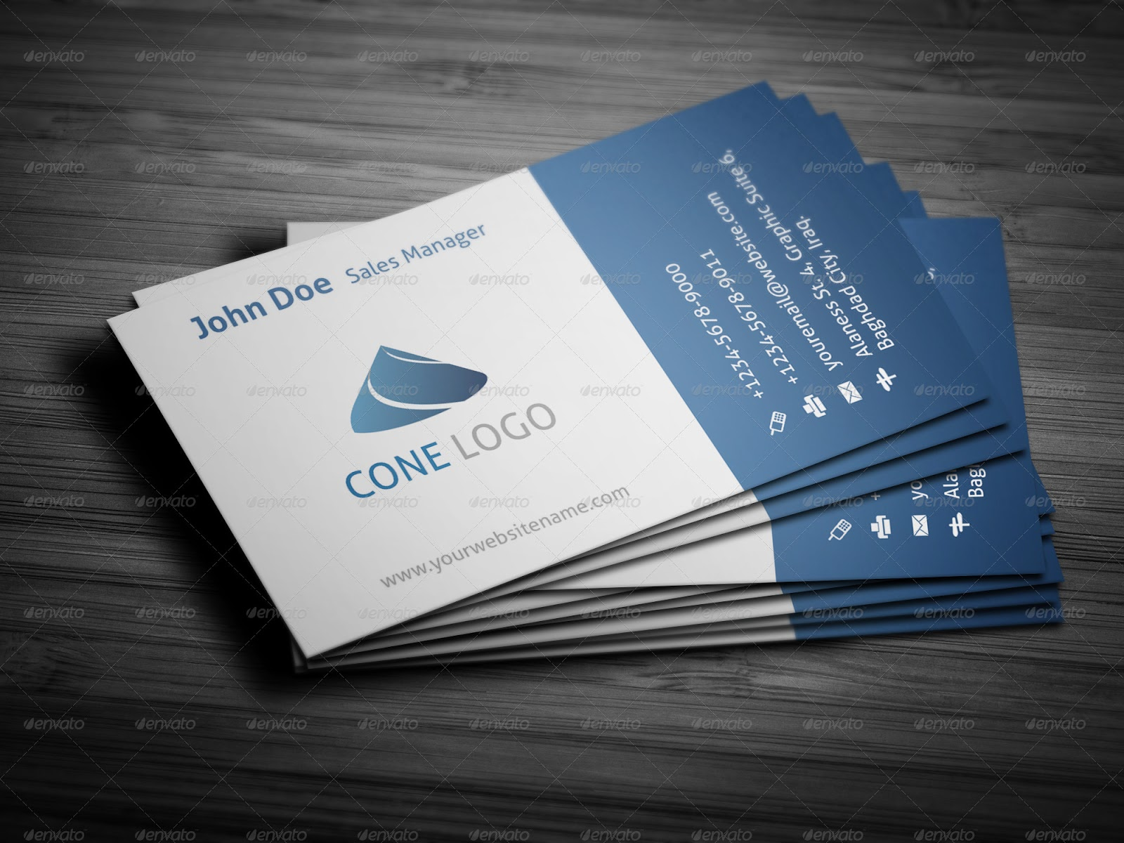 Latest Top 10 Business Cards from Graphicriver | Overwhelming Free Time