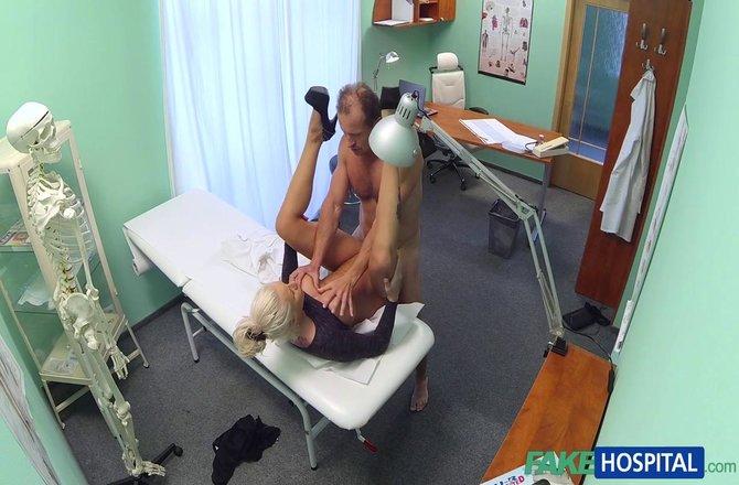 FakeHospital | Dirty doctor fucks busty porn star