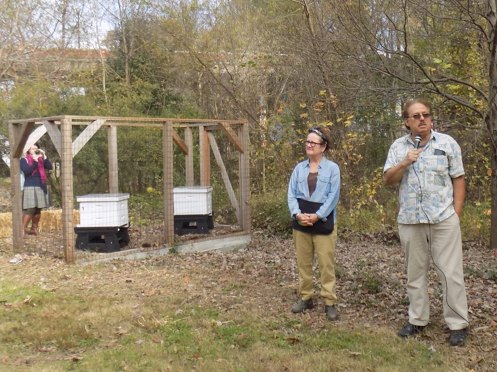 Linda39s Bees Piedmont Park Opens An Apiary