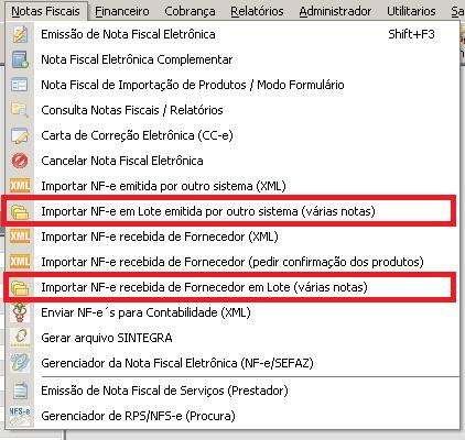 NeXT ERP 166 Classificacao em lote nova newsletter