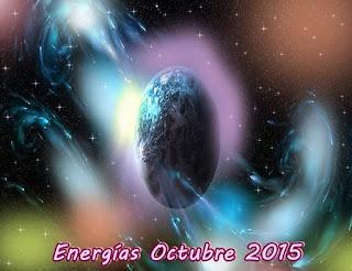 ¿Qué Energía y experiencias podemos esperar en octubre 2015?