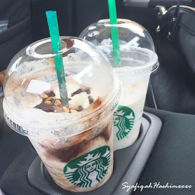 Tempat letak Starbucks dalam Honda City