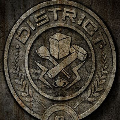 New Hunger Games District Posters