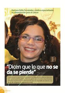 """Entrevista en la Revista """"Mi Herbolario"""" Dra.Odile Fernández."""