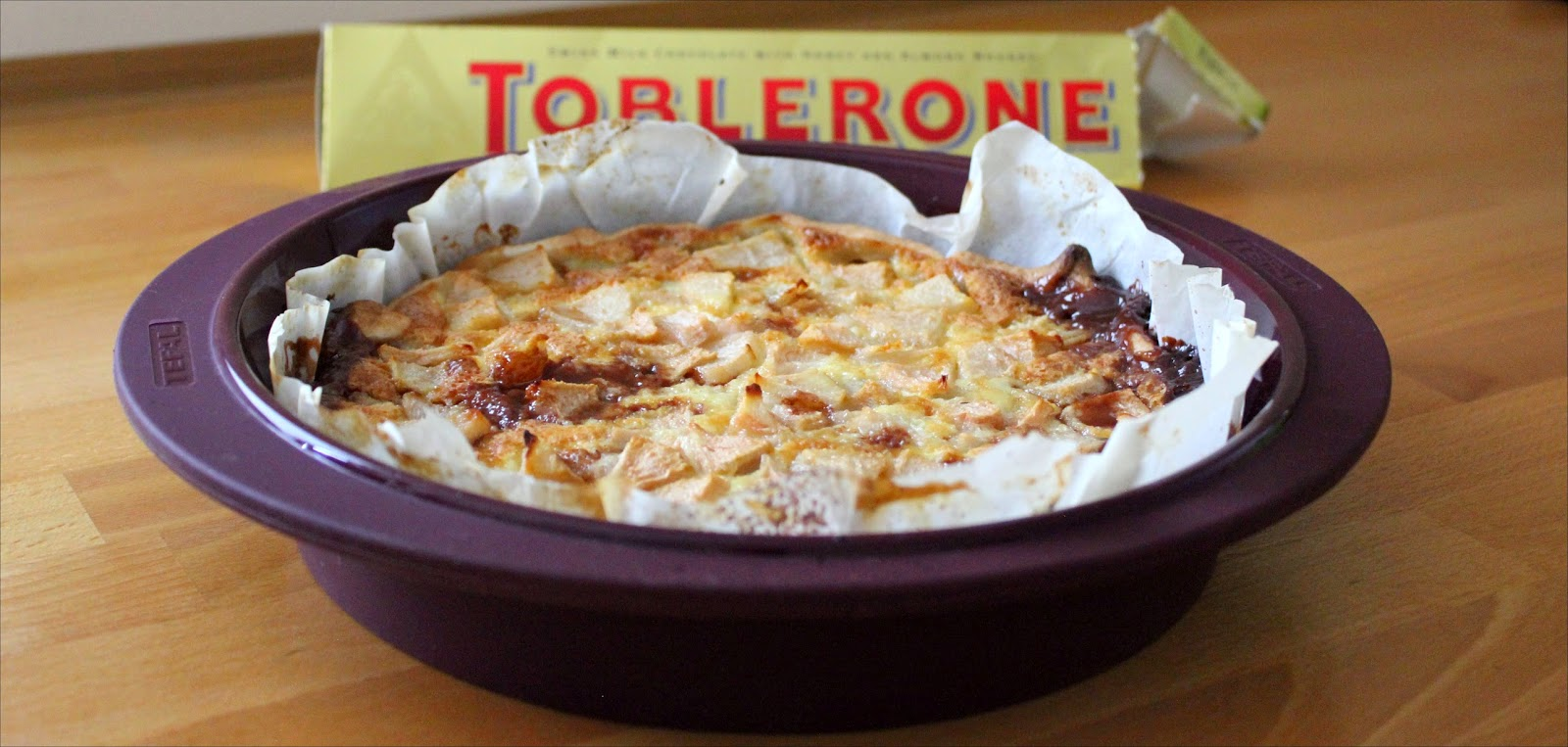 Tarte Poire Toblerone