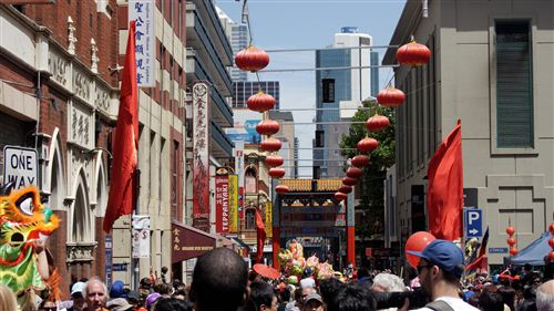 Famous Chinese New Year Chinatown In Melbourne
