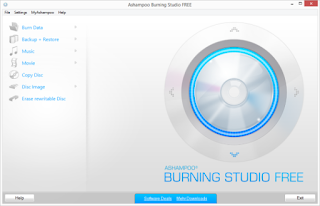 Ashampoo Software Burning Studio Free